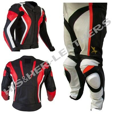 CURVE STAR SPORT-Motorbike/Motorcycle Riding Leather Racing Suit-MotoGp-ALL SIZE