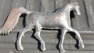 Decorative Handmade Horse for a  Weathervane Topper (?) - FREE SHIPPING