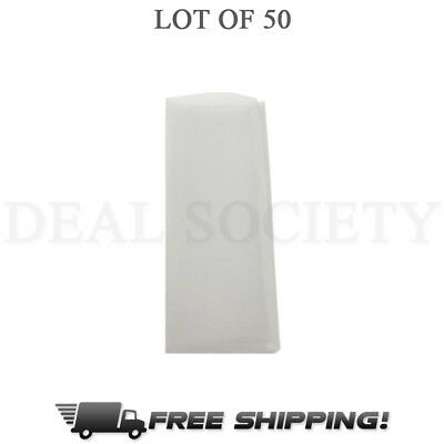 "90 Micron Rosin Press Filter Bags 50 Pack Rosin Screen Bag Filter - 2"" x 4.5"" M"