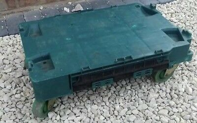 5 x Heavy Duty Wheeled Dolly - 600 x 400mm - For Bail Arm Crate & Totes - 250kg