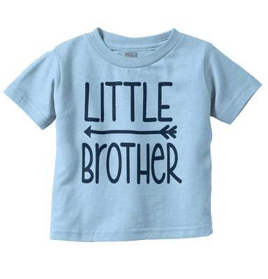 Little Brother Funny Family Cute Gift Idea Boys Toddler Tshirts Tees T-Shirts
