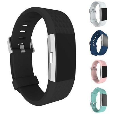 For FitBit Charge 2 Smart Watch Wristband Wrist Band Silicone Strap Replacement