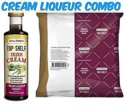 Still Spirits Top Shelf Irish Cream and Liqueur Base Pack