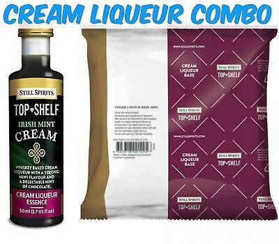 Still Spirits Top Shelf Irish Mint Cream and Liqueur Base Pack