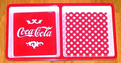 Coca Cola Two Section Tray *A Great Collectable or for Everyday Use* Brand New