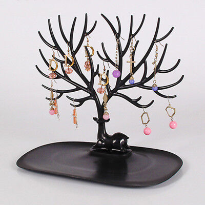 Jewelry Tree Stand Display Organizer Necklace Ring Earring Holder Show Rack B#