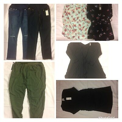 Lot of 7 Maternity Size Small New