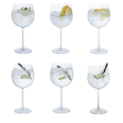 Dartington Crystal - Party Set of Six Gin Copa Glasses in Box