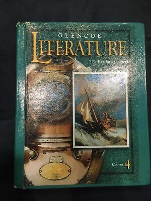 Glencoe literature course 4 the readers choice textbook free glencoe literature course 4 the readers choice 2000 hardcover student fandeluxe Choice Image