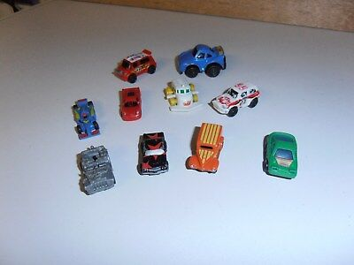 LOT divers 10 minis vehicules kinders micromachine  !!!