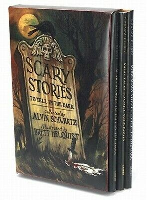 Scary Stories Box Set: Scary Stories, More Scary Stories, and Scary Stories 3 (P