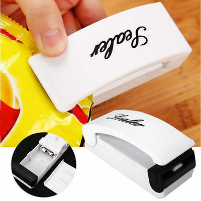 Mini Portable Sealing Heat Handheld Plastic Bag Impluse Sealer Kitchen Tool New