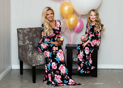 449379aa11f FAMILY DRESS MOTHER and Daughter Matching Girls Outfits Clothes ...