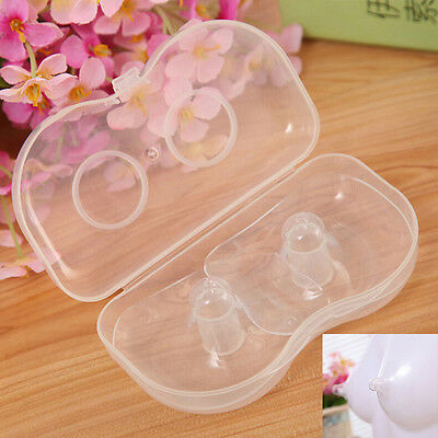 2 Pcs Nipple Protector Diameter 5.5cm Shield Breast Feeding for Baby SY