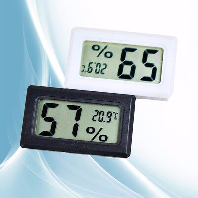 LCD Mini Digital Humidity Temperature Meter Indoor Car Hygrometer thermometer