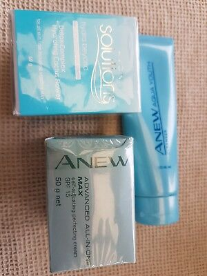 Avon Anew Creams And Cleanser.