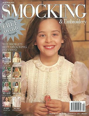 Australian Smocking and Embroidery - Issue No.44, 1998