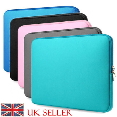 """Laptop Sleeve Notebook Case lot For MacBook Air/Pro 11""""/13""""/15""""/15.6"""" PC Bag UK"""