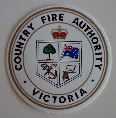 Victoria Cfa Country Fire Authority Sticker 90Mm