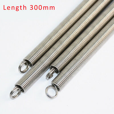 304 Stainless Steel Double Loop Extension Spring Wire Dia.0.3/0.5/0.6/0.8mm-1mm