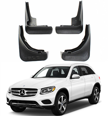 OEM Set Splash Guards Mud Flaps Guards FOR 15-17 Mercedes Benz GLC Without Pedal