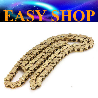 Gold 428 116L Links Drive Chain 150cc 125cc 250cc 140cc ATV QUAD DIRT BIKE BUGGY