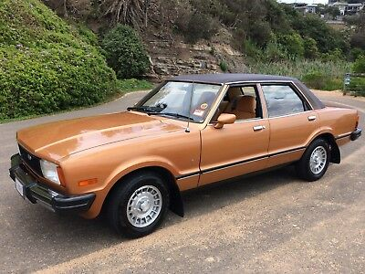 1978 Ford Cortina TE Ghia, very low kms, unrestored & original, one of the best
