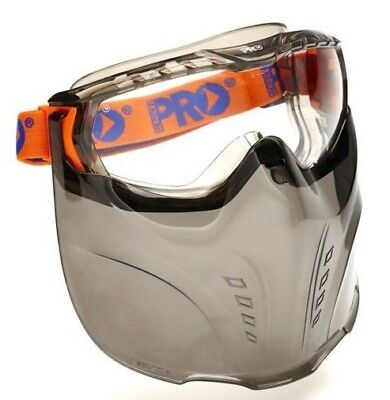 Prochoice VADAR-5000 GOGGLE/VISOR Anti Fog Lens, Liquid Splash Protection CLEAR