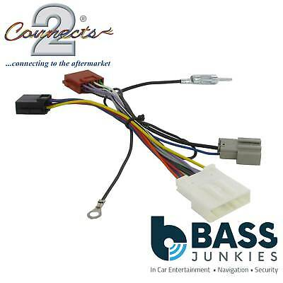 CT20NS06 For Nissan Qashqai 2007 On Car Stereo Radio ISO Harness Adaptor