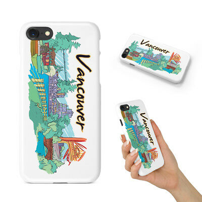 Vancouveri Vancouver Canada Hard Phone Case Cover For Apple Iphone