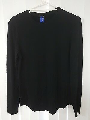 Kit And Ace Edge Brushed crew neck Long Sleeve Top Tee Shirt. Size Small BNWT