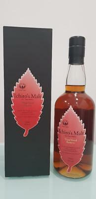Ichiro's, Chichibu, 'Wine Wood Reserve' Japanese Pure Malt Whisky 700ml @ 46 ...