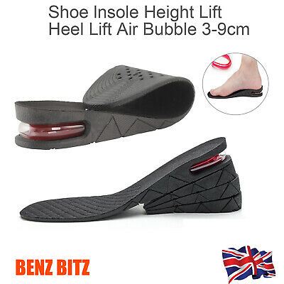 5cm Shoe Lift Height Increase Heel Lifts Insoles Taller Air Bubble Cushion