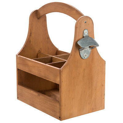 NEW Thatch Wooden Beer Caddy