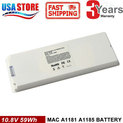 """Battery charger For Apple Macbook 13"""" A1185 A1181 MA561 MA566"""