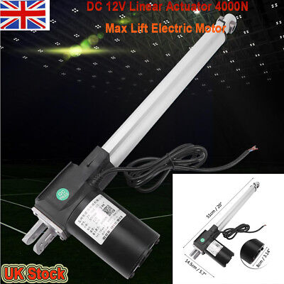 Metal DC 12V Linear Actuator 4000N Max Lift Electric Motor for Medical Auto Car