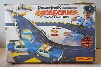 Matchbox Race and Chase Original Box Slot Car Toy for Parts or Spares