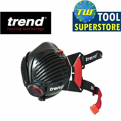 Trend Air Stealth Safety Work Respirator Half Dust Mask Sizes Small/Medium/Large