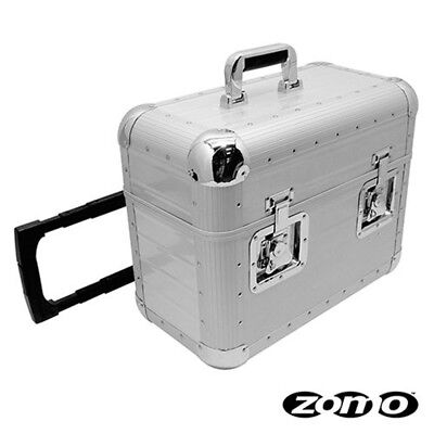 ZOMO TP-70 XT silver bauletto/flight case trolley per contenere vinili accessori