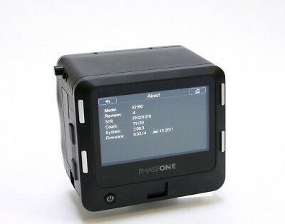 Phase One IQ1 60MP Digital Back MAFD Fit