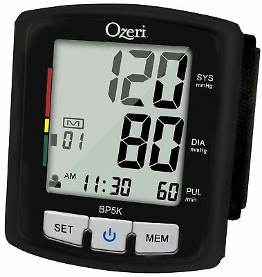 Ozeri CardioTech Pro Series BP5K Digital Blood Pressure Monitor with Voice-Guide