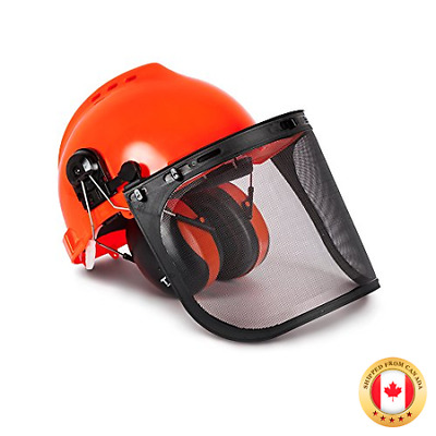 TR Industrial Forestry Safety Helmet and Hearing Protection