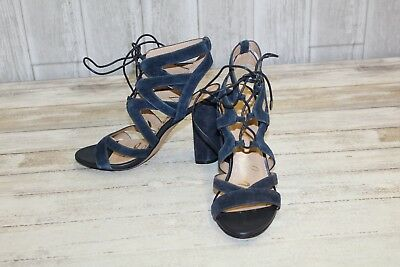 9755cde6d81a51 SAM EDELMAN YARDLEY Suede Lace Up Sandals