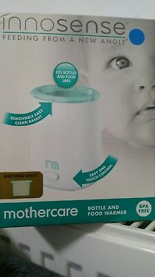 Mothercare Innosense Bottle and Food Warmer Set - Brand New In Box - UK
