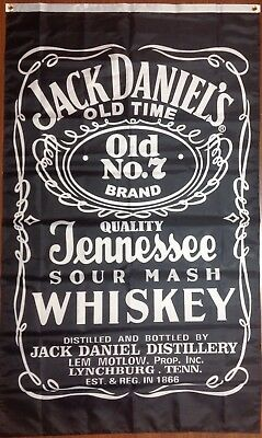 Jack Daniels Flag  Bar Decor  Ships from NC  3'x5'