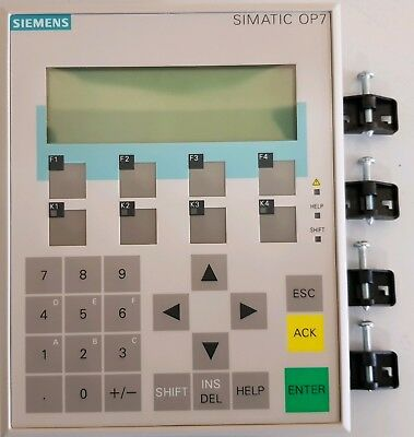 siemens S7 Operating Panel OP7