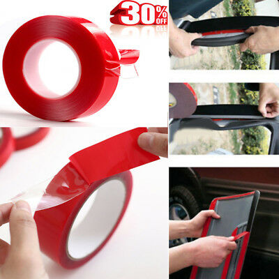 3/10M High strength Double sided Clear Transparent Acrylic Adhesive Tape Car Fix