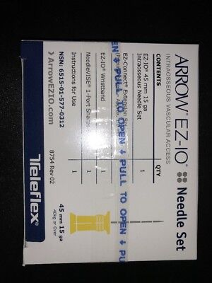 Teleflex Arrow EZ-IO Needle Set 45mm15ga