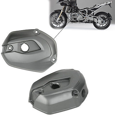 BMW R 1200 GS 2004-2013 Replacement Cylinder Head Valve Cover Case Grey Pair