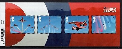 m/sheet.  R.A.F.  centenary year. the red arrows.   MNH